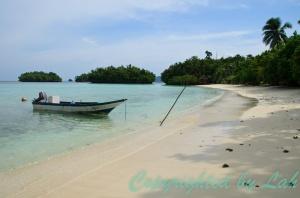 Another beach on Gam Island