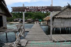 Sawinggrai Village