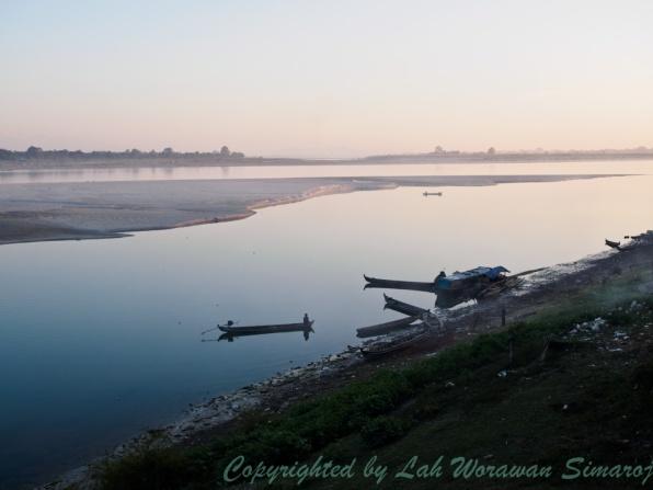 Irrawaddi River in Myitkyina.