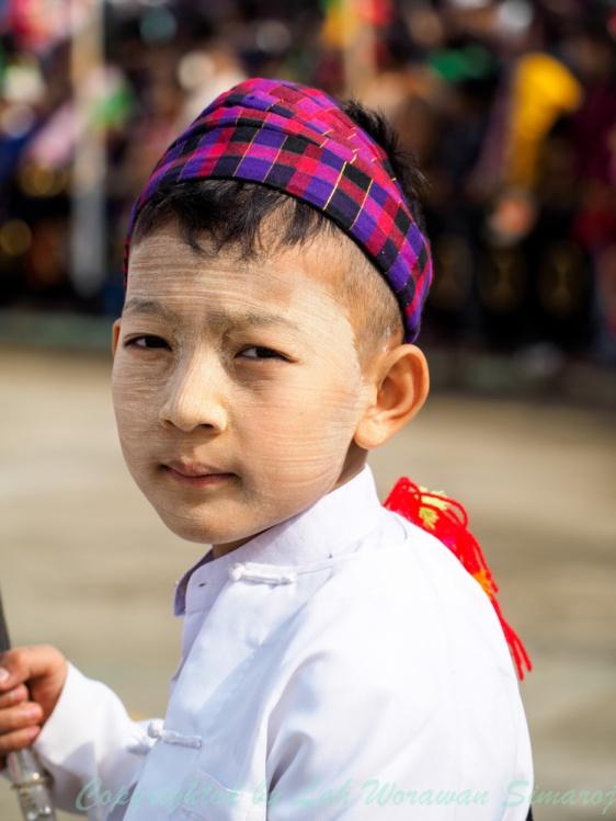 Kachin boy.