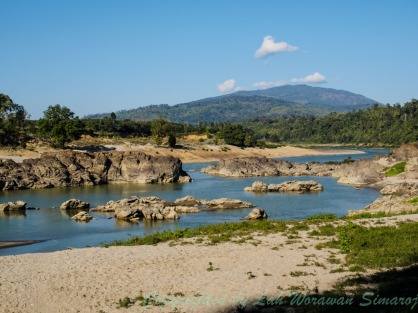 Myit-sone area, the beginning of Irrawaddi River.