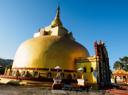A golden pagoda at Myit-sone