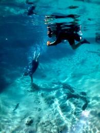 จุดที่มีน้ำผุดออกมาจากใต้ดิน ต้นกำเนิดลำน้ำแห่งนี้ (Photo: Andre Pedro Annes Turatti)