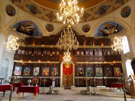 Inside theInside the Assumption Church of Uzundhovo Village