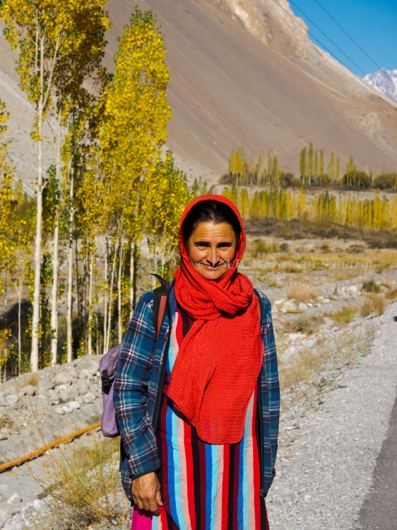 Local Gilgit-Baltistani lady.