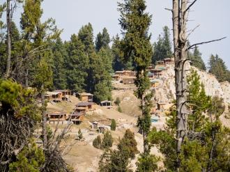 View of accommodation at Raikot Sarai (Off-season).
