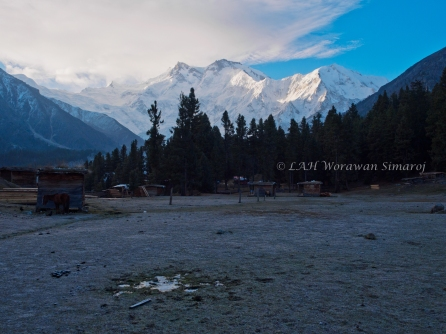 Nanga Parbat mountains.