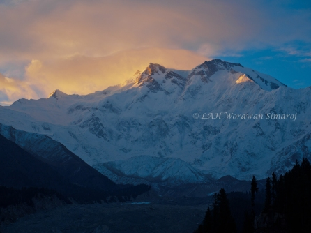 Nanga Parbat, the naked (and killer) mountain.